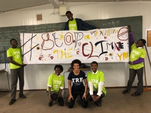 Young reporters rising for climate change