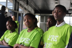 Young reporters at the WESSA YRE launch